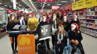 Carol singing for Maggies, Dundee