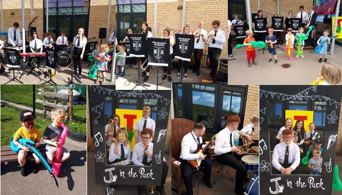 Soul Band performs at J in the Park
