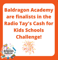 Baldragon Academy and Cash for Kids -  events coming up.