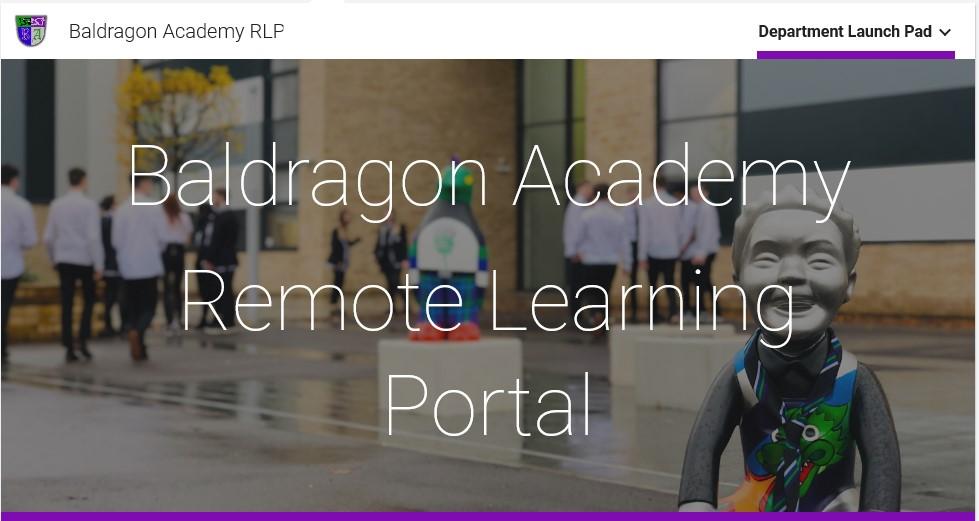 Baldragon Academy Remote Learning Portal